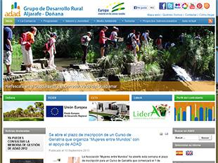 portfolio web oklan, diseño web adad.es