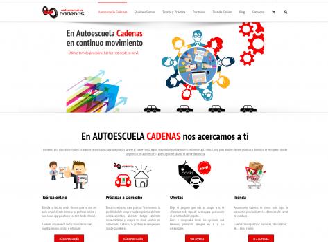 diseño web y tiendas online oklan autoestcuelas web