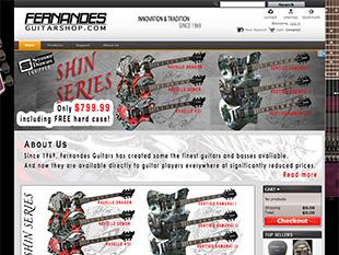 Fernandes Guitar Shop