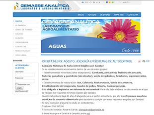Diseño web oklan portfolio de clientes oklan.es