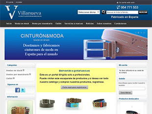 portfolio web oklan diseño web gvillanueva.es cinturo & moda