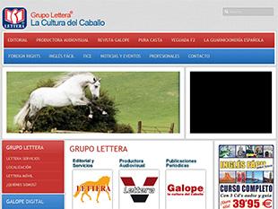 web desarrollada por oklan letteranet.com