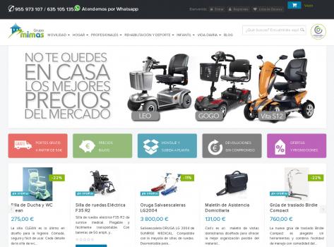 Desarrollo web y tienda online Oklan en Sevilla tu web para ortopedias