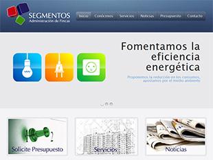 diseño web oklan portfolio oklan segmentos.es