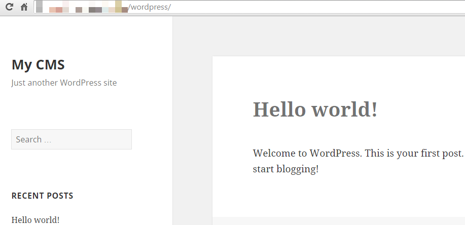 Instalar WordPress en Plesk