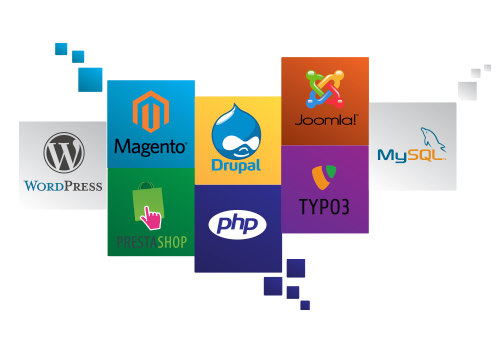 joomla wordpres drupal prestashop magento todas tus apps